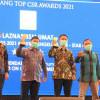 Laznas BSMU Raih 2 Kategori Penghargaan di Top CSR Awards 2021