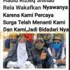 [HOAKS atau FAKTA]: Emak-Emak Pendukung Rizieq Wakafkan Nyawa karena Surga Menanti