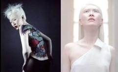 Intip, 5 Sosok Wanita Cantik dengan Warna Kulit yang Unik