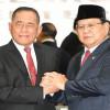 Puji Ryamizard, Prabowo Berseloroh Kalau Hatinya Dibelah, yang Keluar Merah Putih.