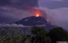 BNPB Imbau Warga Lereng Gunung Ili Lewotolok Jangan Nekat Lawan Alam