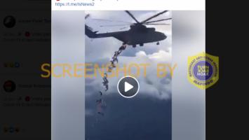 [HOAKS atau FAKTA]: Helikopter Buang Jenazah Korban COVID-19 di Laut Meksiko