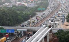 Tol Jakarta-Cikampek Diberlakukan Contra Flow
