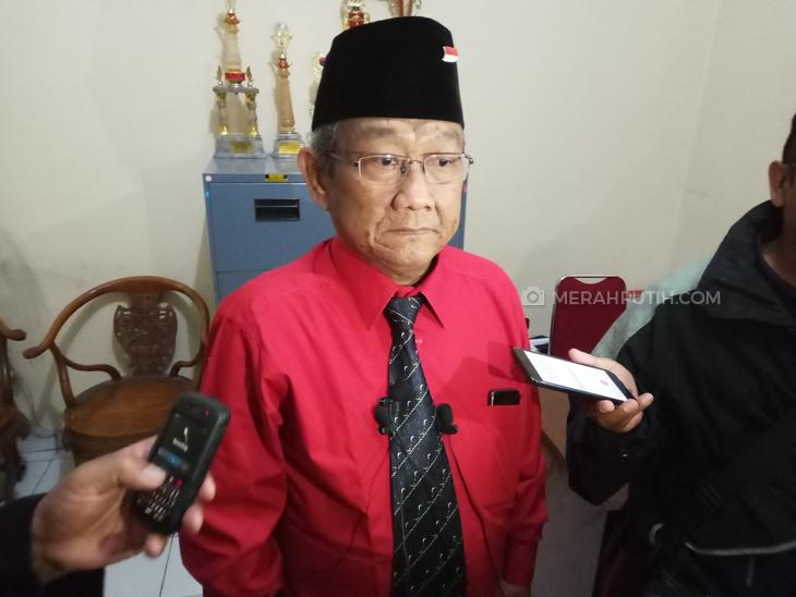 Ketua tim pemenang pasangan Gibran-Teguh, Putut Gunawan, Rabu (2/9). (MP/Ismail)