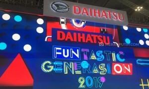 Penuh Warna, Stan Daihatsu di GIIAS 2019 Tarik Perhatian Milenial
