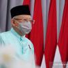 Ma'ruf Amin Tegaskan Turunnya Tingkat PPKM Ditentukan Vaksin