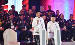 Bersama Agum Gumelar, Bravo Cijantung Deklarasi Dukung Jokowi-Ma'ruf
