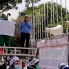 Buntut Pemecatan Sepihak, Petugas AGD Dinkes DKI Geruduk Kantor Anies