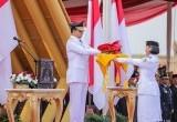 Anies Baswedan Pimpin Upacara HUT RI di Pulau Reklamasi