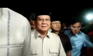 Melayat ke Rumah Duka BJ Habibie, Prabowo Sampaikan Belasungkawa