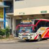 Puluhan Bus AKAP Dihalau Masuk Terminal Giwangan Jogja