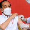 Jokowi Disuntik Vaksin Sinovac Kedua