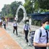 PPKM Level 4, Pelajar di Banjarmasin Kembali Belajar Online