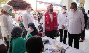 PMI Tangsel Luncurkan Sentra Vaksinasi untuk Pemerataan Vaksin