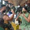 Seluruh Prajurit TNI AD Selesai Divaksin COVID-19 pada April