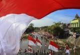 Ragam Upacara Bendera HUT Ke-72 Republik Indonesia Di Seluruh Penjuru Nusantara