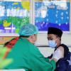 75 Persen Santri di DIY Sudah Disuntik Vaksin COVID-19