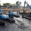 Antisipasi Banjir, Dinas SDA DKI Keruk Lumpur Kali Mookervaart