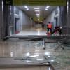 Skybridge Stasiun Solo Balapan-Terminal Tirtonadi Hancur Diterjang Angin Ribut