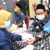 Kiai Ponpes Khas Kempek Cirebon Divaksin COVID-19