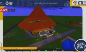 Inovatif, ITS Gelar Wisuda Online Lewat Plaform Minecraft