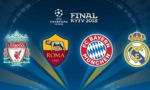 Hasil Drawing Semifinal Liga Champions: Bayern Munchen Tantang Real Madrid, Liverpool Jumpa AS Roma
