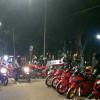 Polisi Bubarkan Kerumunan Warga di Jakarta Pusat