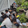 Aksi Tolak Omnibus Law di Solo, Puluhan Pelajar dan Kelompok Anarko Diamankan