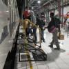 Jelang Libur Panjang, Keterisian Kereta Api Hampir 100 Persen