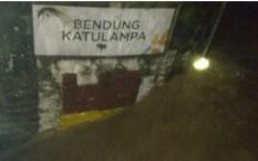 Hujan Deras Guyur Bogor, Pintu Air Manggarai Siaga 3