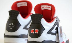 Kehadiran tombol Nintendo pada Sneakers Air Jordan Bangkitkan Memori 90-an