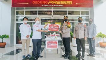 JHL Group Serahkan Bantuan 15 Ton Beras Kepada Instansi Polri