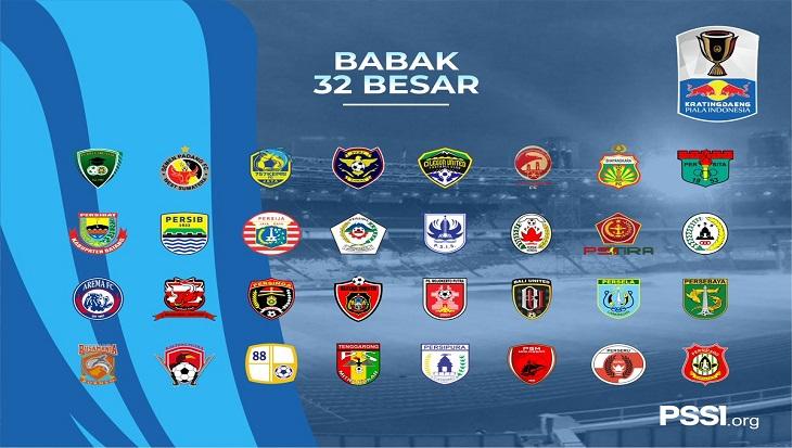Hasil Undian Babak 32 Besar Piala Indonesia