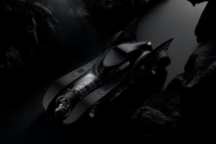 Tampilannya persis Batmobile 1989. (Foto Hypebeast)