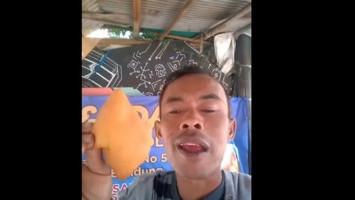 Viralkan Odading Mang Oleh, Ade Londok Diangkat Jadi Duta Kuliner Jabar