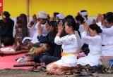 Umat Hindu Banten Ikuti Ritual Tawur Agung Kesanga