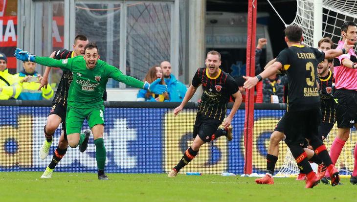 Alberto Brignoli dan Kiper-kiper Pencetak Gol di Serie A