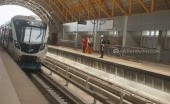Mencicipi Perjalanan Menggunakan Kereta LRT di Palembang