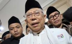 Ma'ruf Amin Ingatkan Semua Pihak Terima Apapun Hasil Pemilu