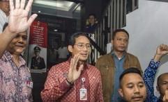 Reaksi Sandiaga soal Jalan Retak di Jakarta