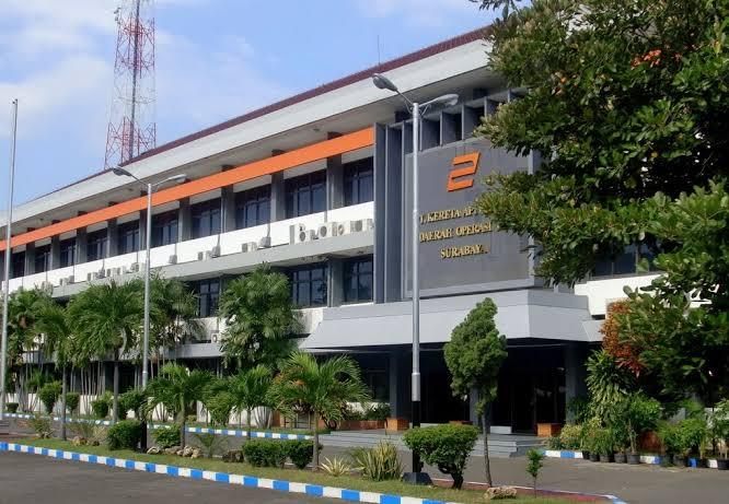 Kantor PT KAI Daop 8 Surabaya