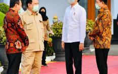 Jokowi Bakal Pidato Saat Prabowo Dikukuhkan Jadi Ketum Gerindra