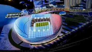 Pembangunan Stadion Persija Sudah Setengah Jalan