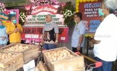 RSUD dr Moewardi Rawat 3 Pasien Positif COVID-19, Pinsar Kirim 2000 Telur Ayam