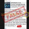 [HOAKS atau FAKTA]: Warga Aceh Tolak Vaksin karena Menurut Ulama Haram