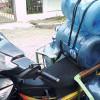 Mamang Tukang Galon, Sepeda Motornya Serba Bisa