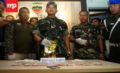 Petugas TNI Amankan 1 Kg Sabu dan 4 Ribu Pil Ekstasi di Medan