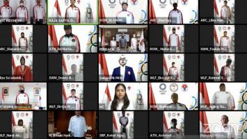 Resmi, Indonesia Kukuhkan dan Berangkatkan 28 Atlet ke Olimpiade Tokyo