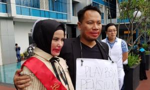 Wajah Vicky Prasetyo Dicoret Saat Bridal Shower, Warganet Bilang Cari Sensasi