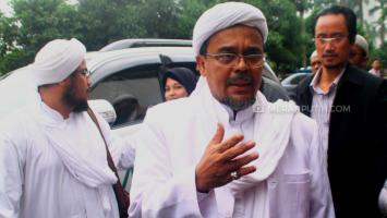 Rizieq Shihab Belum Pasti Penuhi Panggilan Polisi